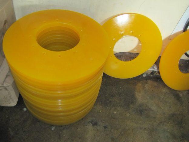 Чистящие и направляющие диски для очистных поршней